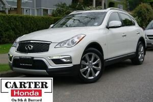 2016 Infiniti QX50 AWD + LOW KMS + LOCAL + ACCIDENTS FREE!