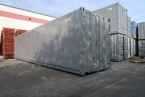 40 Ft High-Cube Refrigerated Shipping Container (Damaged)