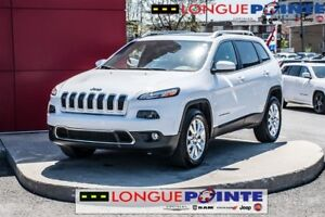 2015 Jeep Cherokee Limited toit panoramique cuir 4x4