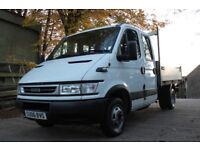 Iveco Daily LWB Crew cab Tipper Truck serviced ready for work