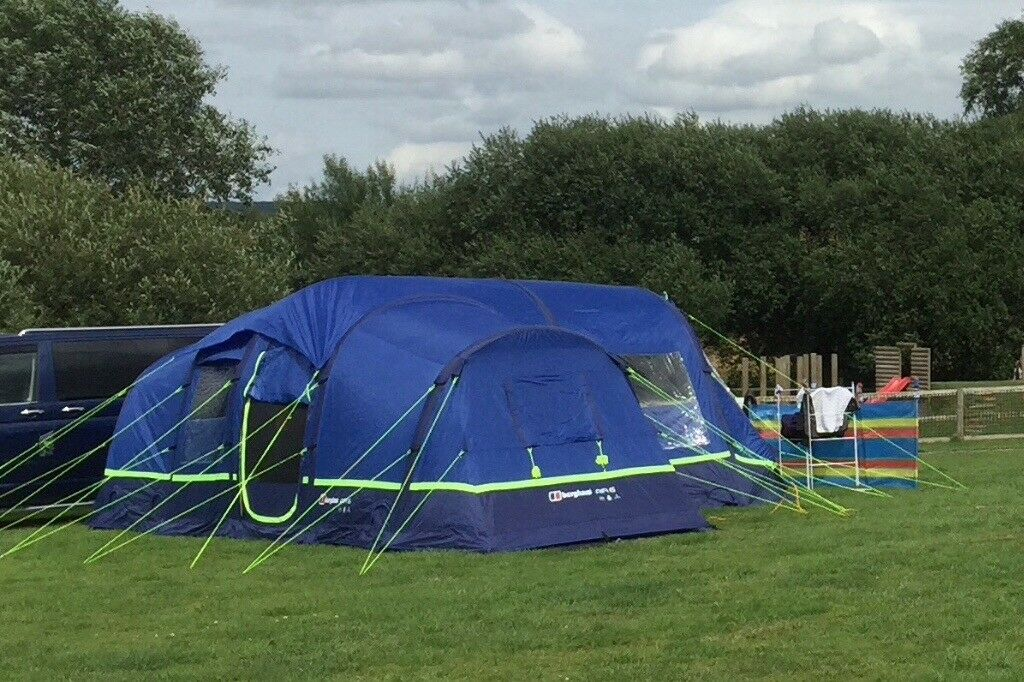 ea74adc5c58 Berghaus Air 6 Inflatable Tent with Foot Print and Air Porch