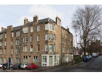 Spare double bedroom in lovely Marchmont flat