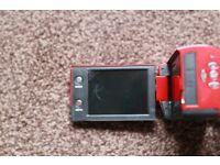 Digital Camera Video Camcorder DV DVR Red