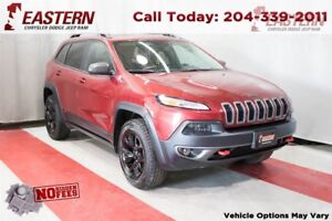 2016 Jeep Cherokee TRAILHAWK V6 4X4 HEATED SEATS A/C CRUISE RMTE