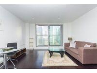 # Stunning 1 bed coming available in Pan Peninsula - 15th floor - Excellent views and location - E14