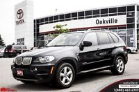 2011 BMW X5 35d,DIESEL,NAVIGATION,PANA ROOF,LEATHER,LOADED!!!