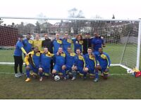 New football players needed for 11 a side team in South london!