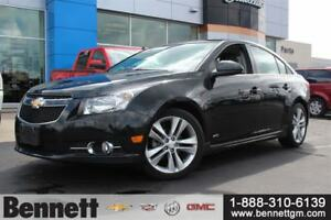2014 Chevrolet Cruze 2LT - Leather, Sunroof, RS Package
