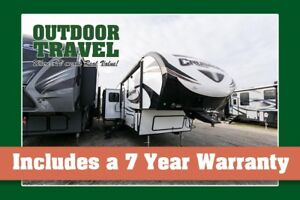 2018 FOREST RIVER CRUSADER 337QBH BUNK HOUSE 5TH WHEEL