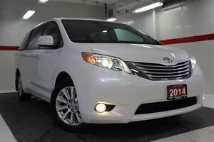 2014 Toyota Sienna XLE Limited AWD Heated Lthr JBL DVD Nav Sunro