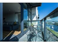 Spectacular river view apartment to let, two bedrooms, equipped. furnished, bills included !!
