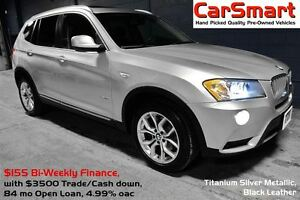 2013 BMW X3 xDrive28i | PanaRoof, Premium + Executive Pkg's |
