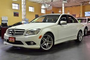 2010 Mercedes-Benz C-Class C250 4MATIC LEATHER SUNROOF 17ALLOYS