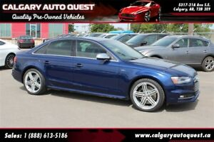 2014 Audi S4 3.0 Technik AWD/6-SPEED/NAVI/B.CAM/LEATHER