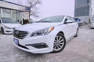 2017 Hyundai Sonata LIMITED, NAVI, LEATHER, PANO SUNROOF, EMERGE