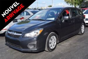 2014 Subaru Impreza A/C 2.0I HATCH AUTOMATIQUE