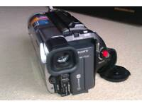 Sony Hi8 camcorder case, spare battery