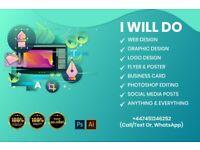 Freelance Graphic & Website design  Logo design, Flyer, Brochure, Leaflet, Book cover design