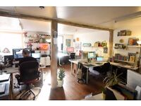 Desk for Rent in Shared North Laine Studio £150 p/m