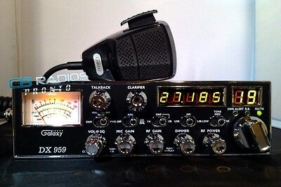 Galaxy DX959 CB Radio - Performance Tuned - MOSFET Driver & Final Combo