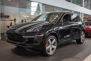 2016 Porsche Cayenne Turbo DEMO