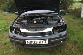 breaking for parts renault laguna 1.9 dci good engine gearbox