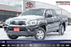 2015 Toyota Tacoma Access cab, LOW LOW kms