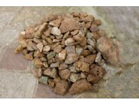 Warm smooth stone for rockery project