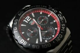 ☆ SUPERB ☆ TAG HEUER Formula 1 ☆ Swiss Made ☆ CAU1116 ☆ 2009 ☆