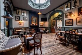 IMMEDIATE START, KITCHEN PORTER, BULL&GATE NW5, 7.40 HOURLY, APPLY TODAY!