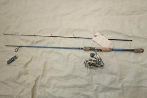 High end fishing rods and reels