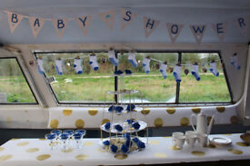 BOAT venue hire baby shower unique quirky