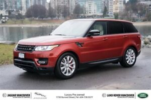 2014 Land Rover Range Rover Sport V8 Supercharged Dynamic Low KM