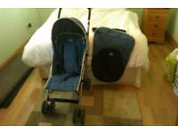 USED BABY BUGGIE AND TRAVEL COT VERY GOOD CONDITION REDUCED 30 FOR BOTH