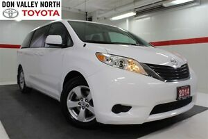 2014 Toyota Sienna LE 8 Passenger Btooth BU Camera Cruise Alloys