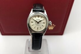 LADIES ROLEX OYSTER PRECISION 6410 MANUAL WIND YEAR 1980 WATCH