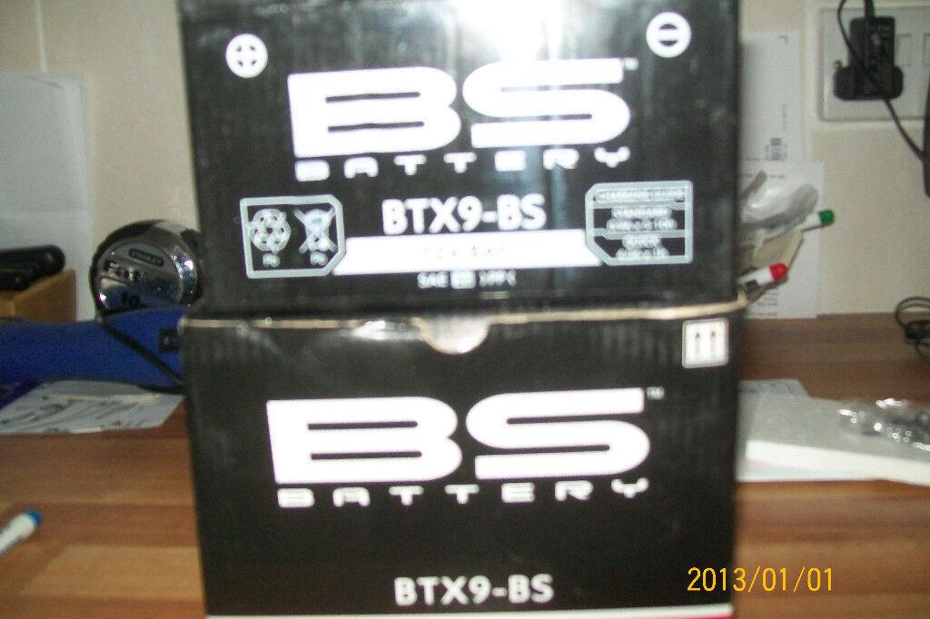 BS BATTERY BTX9 BS NEW