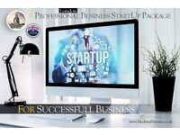 Professional Business Startup Package | Website | Logo Design | Hosting | Domain & Email | SEO