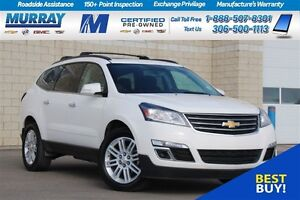 2015 Chevrolet Traverse LT*REMOTE START*SUNROOF*REAR CAMERA*