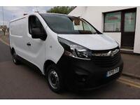 2015 15 Vauxhall Vivaro 1.6 CDTI 2700 SWB White New Shape NO VAT