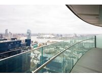 26TH FLOOR 1 BED - ARENA TOWER E14 - CANARY WHARF DOCKLANDS CROSSHARBOUR