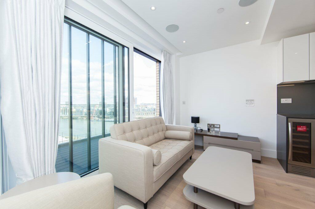 LUXURY BRAND NEW STUDIO SUITE FULHAM RIVERSIDE SW6 IMPERIAL WHARF WANDSWORTH TOWN PARSONS PUTNEY