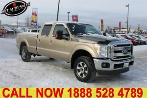 2011 Ford F-350 Lariat 4x4 Crew Long Box Fully Loaded