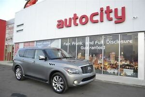 2012 Infiniti QX56 | Heated Leather | DVD | Backup Camera |