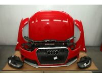 OEM Front end assembly Audi Audi RS4 B8 8K5 2012 Xenon headlights bonnet radiator
