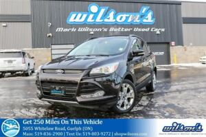 2013 Ford Escape SEL 4X4 SUV! LEATHER! NAVIGATION! HEATED SEATS!