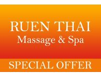 ● Special 100 Minute Offer at Ruen Thai Massage, Newcastle●
