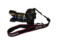 Superb Canon EOS D7 Camera with Canon EF-S 18-200 USM Lens + Extras