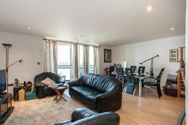 LUXURY 2 BED DUPLEX - RIVER VIEWS - Apollo Building E14 CANARY WHARF DOCKLANDS POPLAR LIMEHOUSE CITY