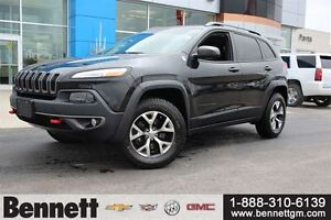 2015 Jeep Cherokee Trailhawk - Leather, Navigation, Heated Seats